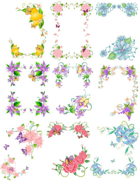 Красивые рисунки для оформления открыток